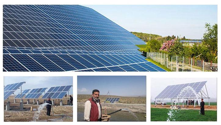 农业灌溉用太阳能水泵系统