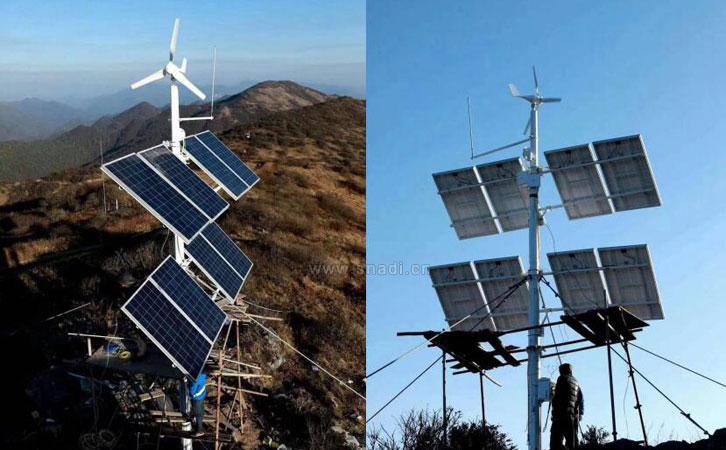 太阳能发电系统有效的帮助偏远无人区森林防火提供电源