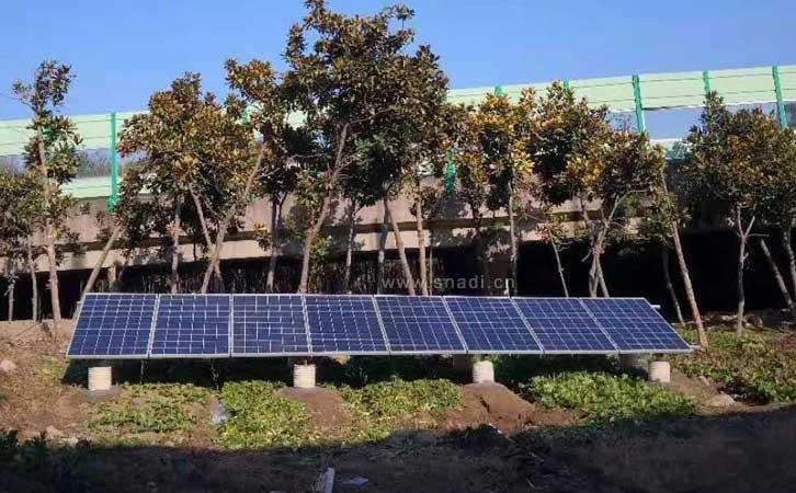 太阳能逆变器发电系统提供电源为种植室供电